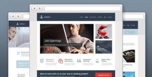 Anchorra - Multipurpose Website PSD Template