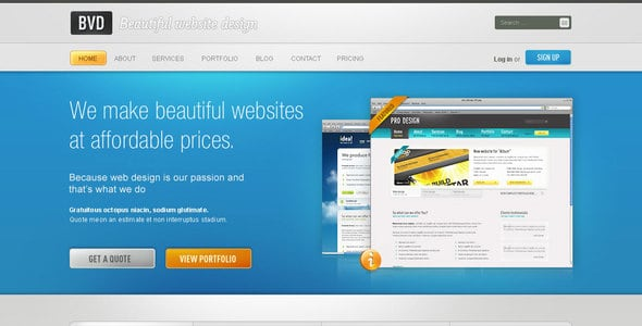 BVD - Beautiful Website Design