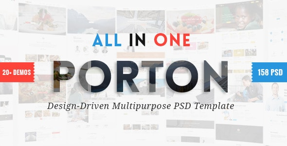 Porton | Design-Driven Multipurpose PSD