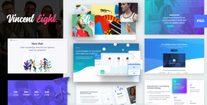 Vincent Eight - Creative Multipurpose PSD Template