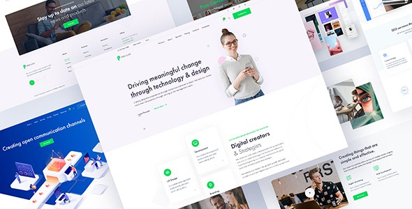 Prelude - Creative Multipurpose PSD Template