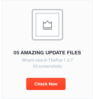 preview thefox version 1.3.7 - 05 update files