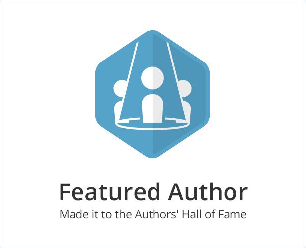 Themeforest Featured Author