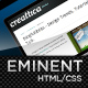 Eminent, an ultra clean & professional layout - 25