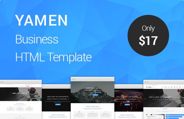 YAMEN Business HTML Template