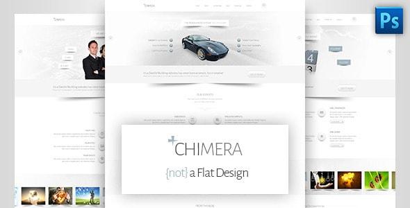 Chimera - A Bright, Light PSD Template