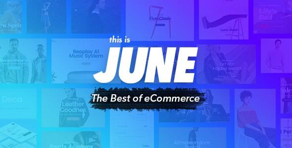 June - Multi-Purpose eCommerce Template