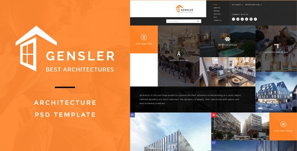 Gensler : Architecture PSD Template