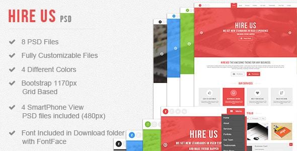 Hire Us - Multi-Purpose Landing Page