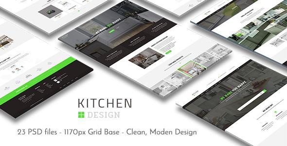Kitchen - PSD Template