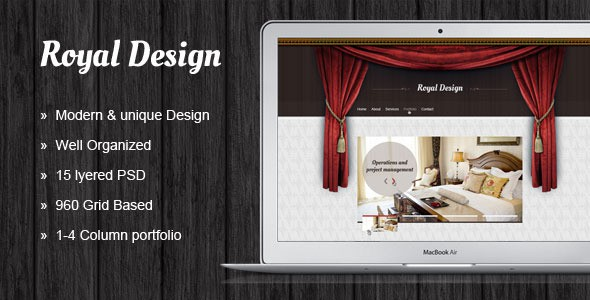 Royal Design - Modern and Clean