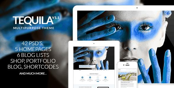 TEQUILA – Multi-Purpose PSD Template
