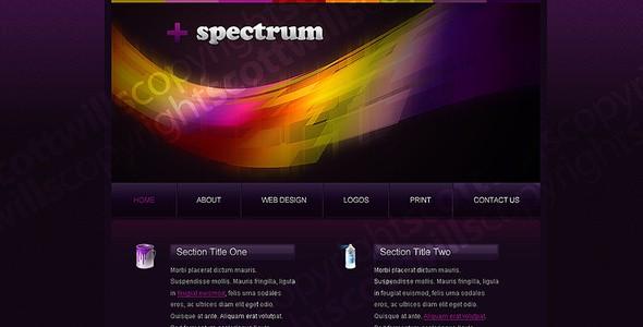 + Spectrum | Portfolio Template