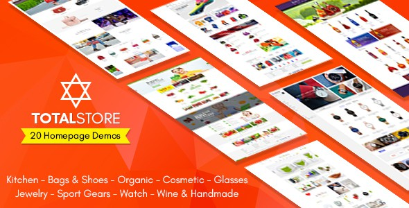 TotalStore - All in One Niche Store Ecommerce PSD Template v1.0