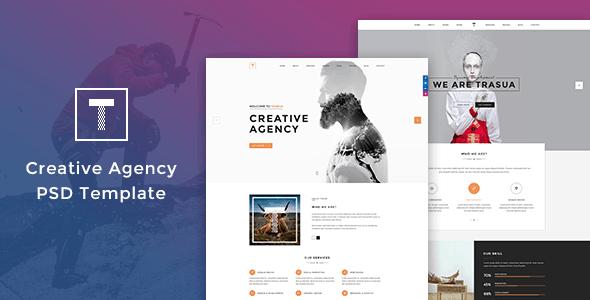 Trasua - Creative Agency PSD Template
