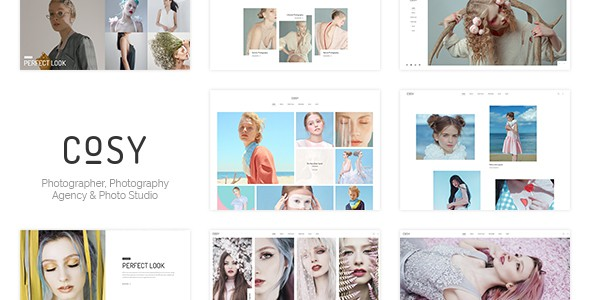 Cosy | Photography PSD Template