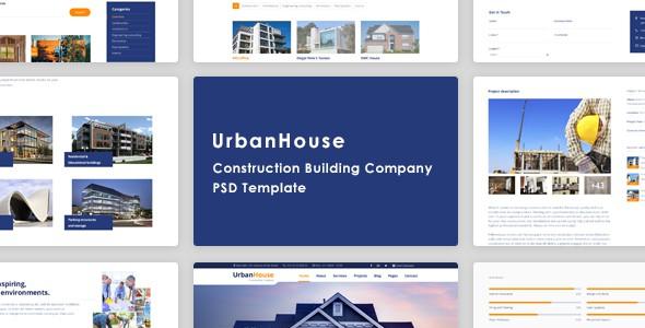 UrbanHouse – Construction Renovation Template