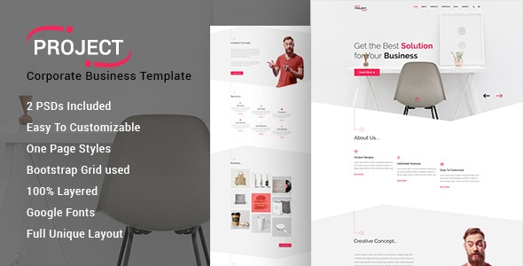 PROJECT - Corporate Business Template