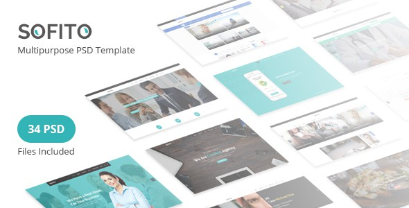 Sofito - Multipurpose PSD Template