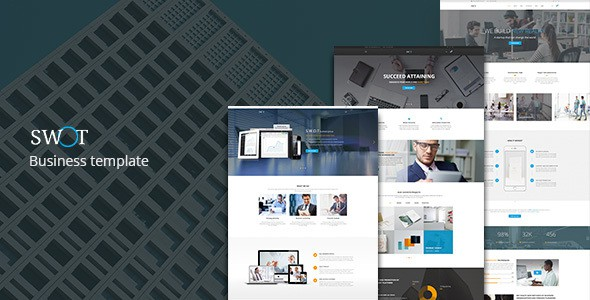 SWOT — Multi-Concept Business PSD Template