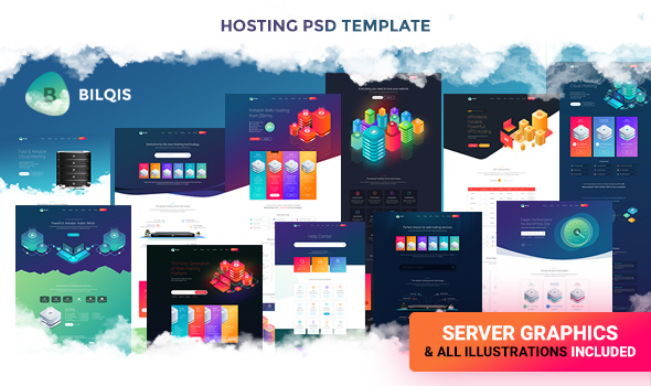 Boo   Creative - Cloud Hosting - University - eCommerce - Mobile App - Personal - Lawyer PSD - 1