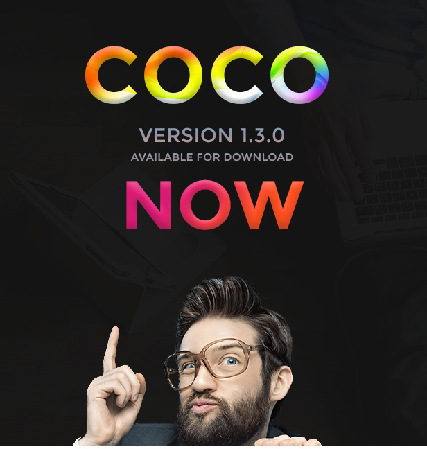Coco PSD Template ver 1.3.0 Out Now