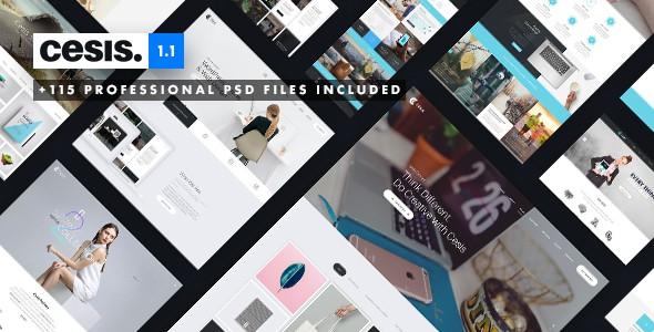 Cesis | Ultimate Multi-Purpose PSD Template