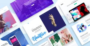 Unit Five - Creative Multipurpose PSD Template for Agency and Corporate